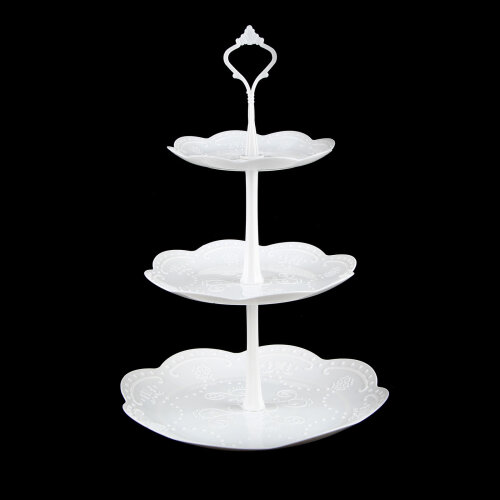 (Round) 3 Tier Cake Stand Afternoon Tea Wedding Party