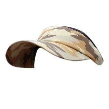 Camo Style Adjustable Sun Visor Cap Empty Top Hat Travel Cap,#06