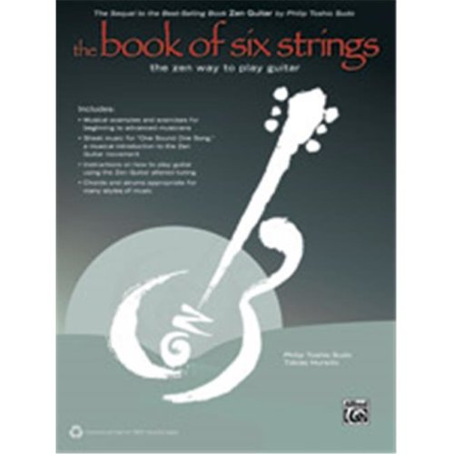 Alfred 00-41439 BOOK OF SIX STRINGS, THE-BK&CD