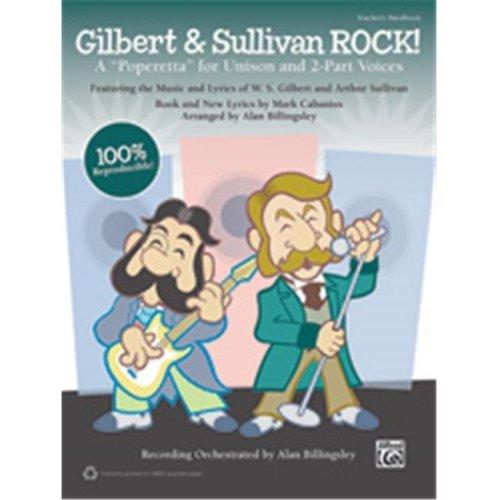 Alfred 00-39989 GILBERT & SUL ROCK-TCH HBK&STRX CD