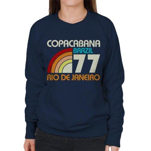 Copacabana Brazil 77 Women's Sweatshirt