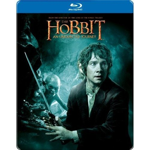 The Hobbit - An Unexpected Journey Limited Steelbook Blu-Ray [2013]