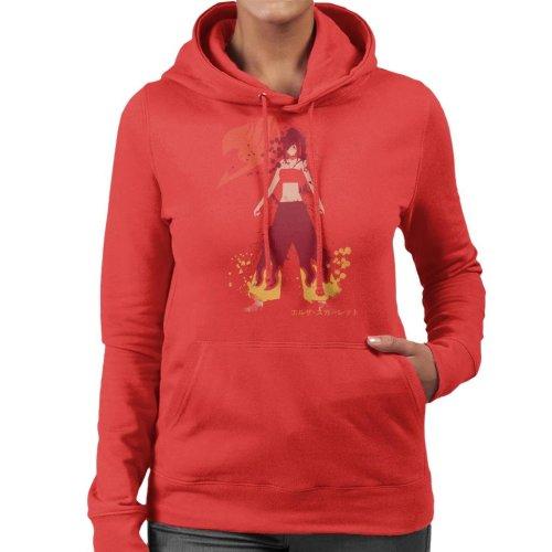 Erza Scarlet Spirit Fairy Tail Women's Hooded Sweatshirt