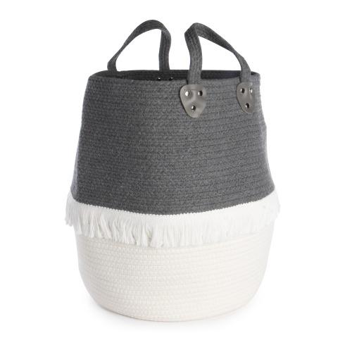 Large Cotton Rope Storage Basket | M&W