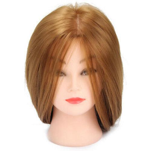 "Hairdressing Training Head 30"" Hair & Table Clamp | Hair Styling Doll Head"