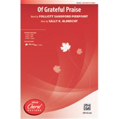 Alfred 00-41553 OF GRATEFUL PRAISE-STRX CD