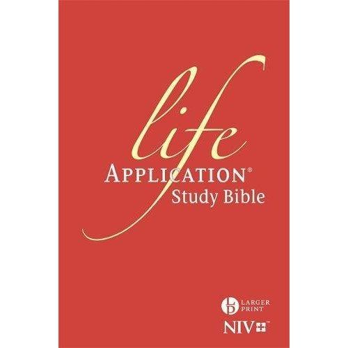 NIV Larger Print Life Application Study Bible (Anglicised): Hardback (New International Version)