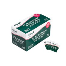 Clinell 2% Chlorhexidine in 70% Alcohol Equipment Wipes (240) individually wrapped wipes