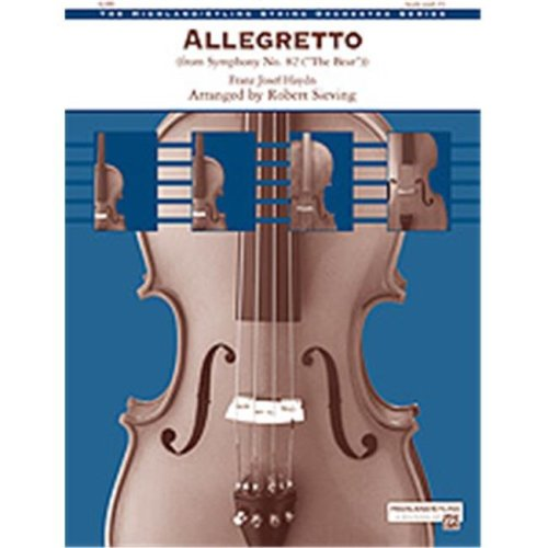 Alfred 00-33727 ALLEGRETTO-SYMPHONY NO.82-HSO SET4D