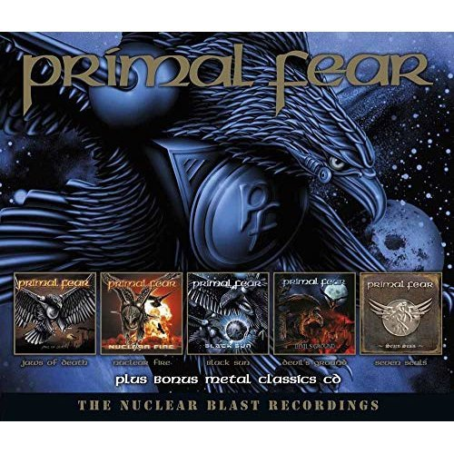 Primal Fear - The Nuclear Blast Recordings (6cd) [CD]