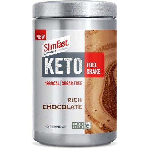 SlimFast Advanced Keto Fuel Shake Rich Chocolate, 350g
