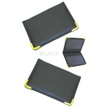 2 PCS TRAVEL CARD OYSTER RAIL BUS PASS BANK ID HOLDER PU LEATHER WALLET