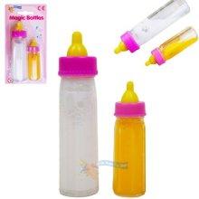 Born Baby Doll Magic Milk Bottle Set of 2 Dolls Feeding Set Girls Toy