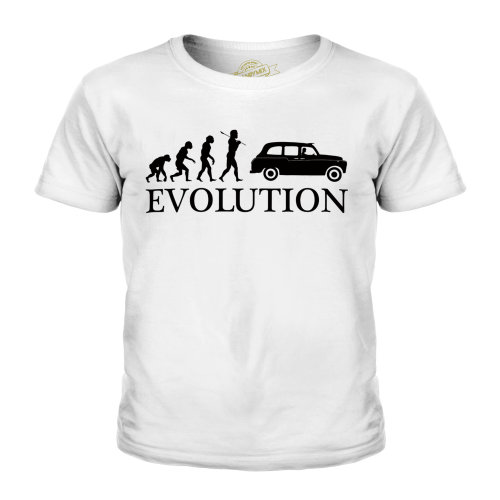 Candymix - Taxi Evolution Of Man - Unisex Kid's T-Shirt