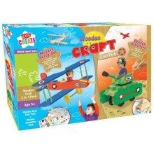KIDS CREATE Wooden Craft 2 IN 1 PACK