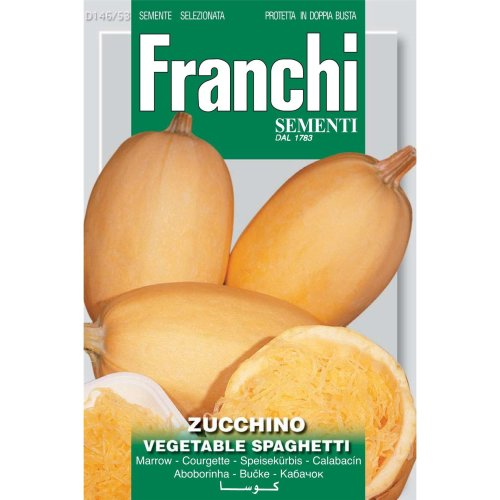 Franchi Seeds of Italy - DBO 146/53 - Courgette - Vegetable Spaghetti - Seeds