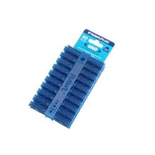 Rawlplug RAW68595 Blue Uno Plugs 8mm x 32mm Card of 80