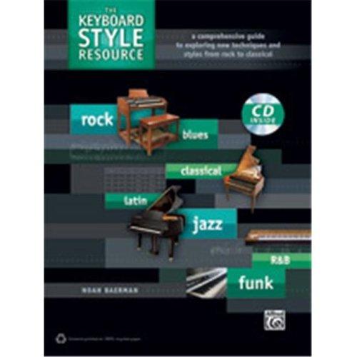 Alfred 00-39298 KEYBOARD STYLE RESOURCE-BK&CD