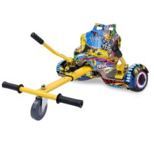 Right Choice Multi-Coloured Classic Hoverboard With Adjustable Hoverkart