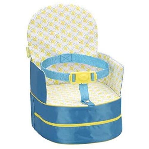Badabulle Travel Feeding Booster Seat, Blue - Used