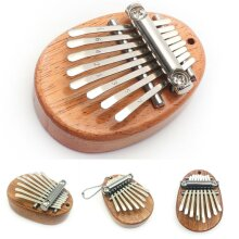 Mini Kalimba 8 Keys Thumb Piano Finger Keyboard Musical Instrument Great Sound