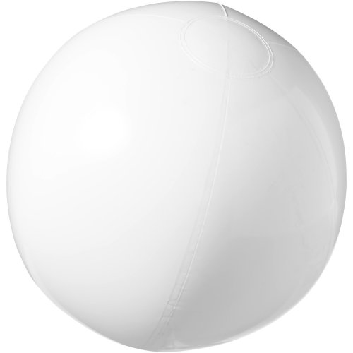 (25 cm, White) Bullet Bahamas Solid Colour Beach Ball