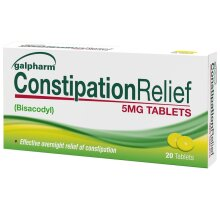 Galpharm Constipation relief tablets 20 x 6 = 120 tablets