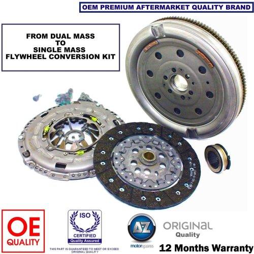 for VW GOLF PASSAT TOURAN 1.9 TDI SINGLE MASS FLYWHEEL & CLUTCH CONVERSION KIT