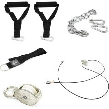 Pulley Cable System Home Workout Set