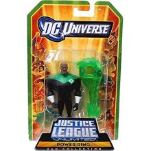 DC Universe Justice League Unlimited Exclusive Action Figure Power Ring with Construct