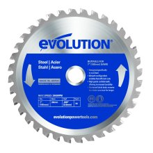 Evolution Mild Steel Carbide-Tipped Blade, 180 mm