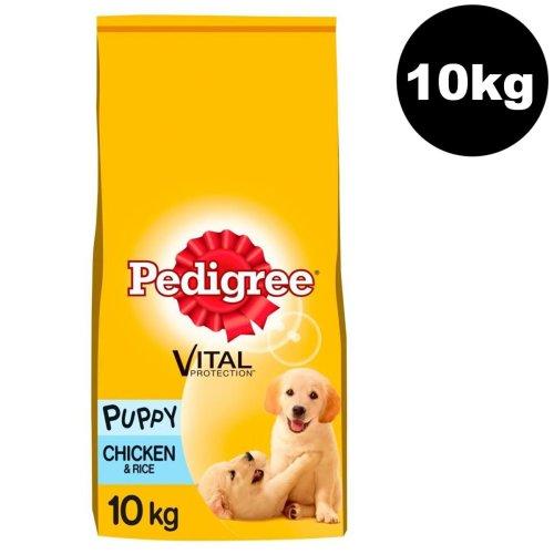PEDIGREE Puppy Medium Dog Complete Dry With Chicken & Rice 10kg