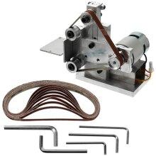 Multifunctional Grinder, Mini Electric Belt Sander, Diy Polishing Grinding Machine, Cutter Edges Sharpener Belt,