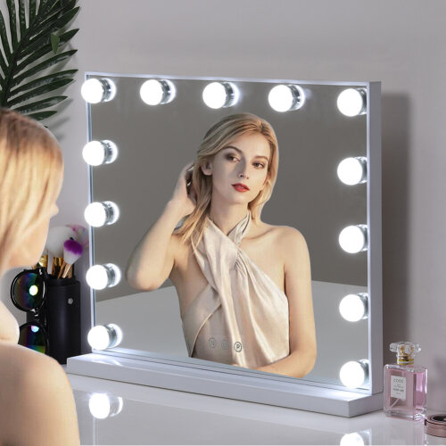 Hollywood Mirror with LED Makeup Cosmetic Vanity Dressing Table Mirrors Light Up