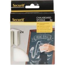 Securit Chalkboard Magic Cleaning Sponge Set of 2