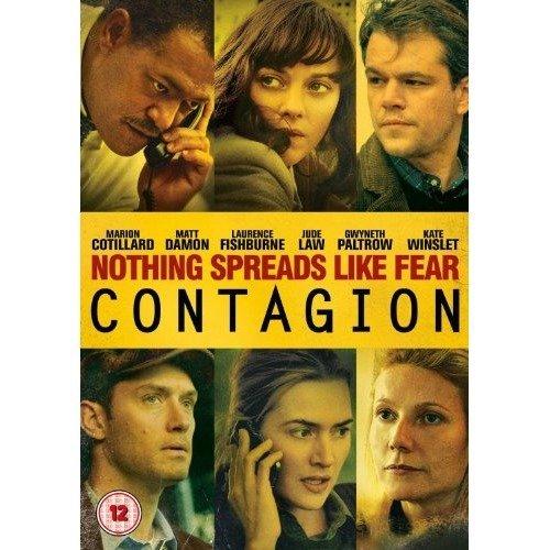 Contagion DVD [2013]