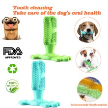 Dog Toothbrush Stick Dog Teeth Cleaning Chew Toys Pet Dental Care