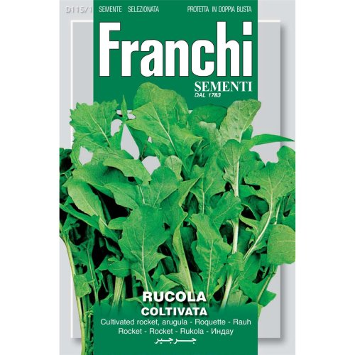 Franchi Seeds of Italy - DBO 115/1 - Cultivated Rocket - Rucola Coltivata - Seeds
