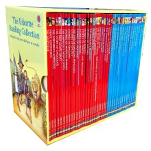 Usborne 40 Books Collection Set Young Reading Series