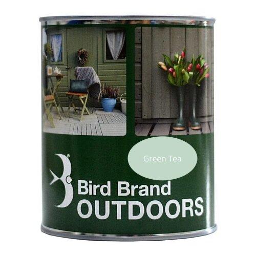 Bird Brand Outdoor Garden Paint Satin Finish (Green Tea, 2.5 Litre)