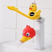 Water Tap Children's Sink Extender Baby Hand Washing Faucet Extension Spout Artifact Water Pipe Splash-proof Cartoon(#07)