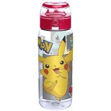 Pokemon Water Bottle -  Pickachu - Flip Top