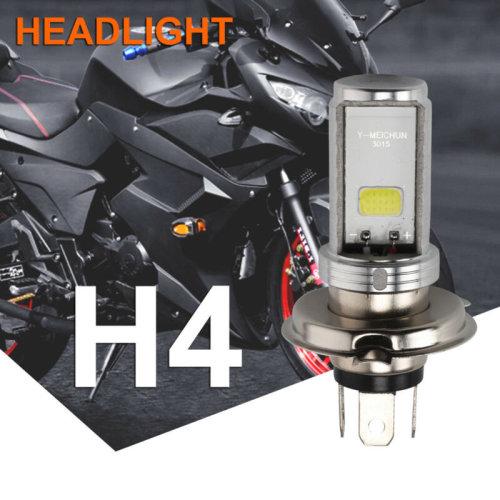 Motorcycle Cool H4 White Headlight 3030 LED Hi-Lo Beam Lamp