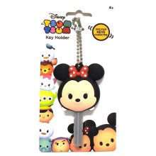 Key Cap - Disney - Soft Touch PVC Holder Tsum Tsum Minnie 85448