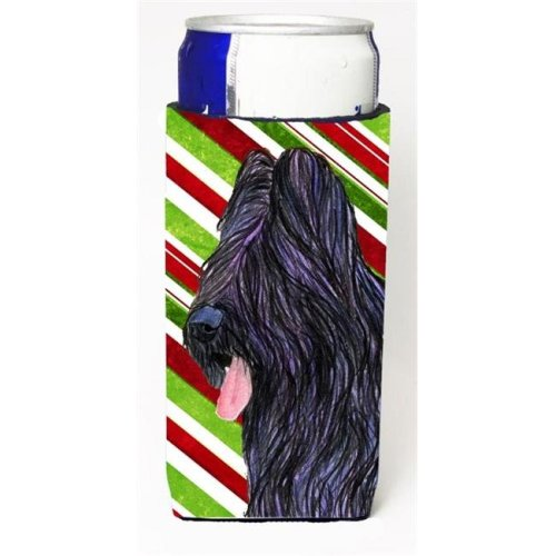 Briard Candy Cane Holiday Christmas Michelob Ultra s For Slim Cans - 12 oz.