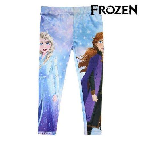 (2 Years) Leggings Frozen Blue