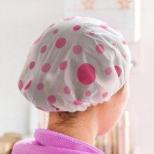 1PCS Waterproof Shower Cap Thicken Saunas Bath Hat Bathing Cap For Women Kids Hair Protective Cap