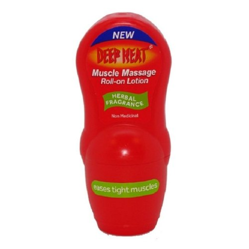 Deep Heat Muscle Massage Roll-on Lotion 50g