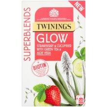 Twinings Superblends Glow Enveloped Tea Bags - 4x20