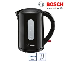 Bosch TWK76033GB Cordless Kettle 3000W 1.7L Capacity With 360 Rotating Base - Refurbished